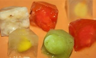 Cubinhos Frutados: O Melhor Que Você Pode Fazer Pela Sua Pele