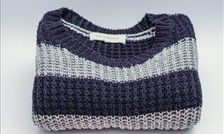 Aprenda Como Fazer Suas Roupas de Lã Encolhidas Voltarem ao Tamanho Normal!