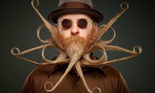 Os Vencedores do Campeonato Mundial de Barba e Bigode 2017