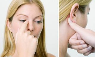 4 Pontos de Acupressão Para Congestão Nasal