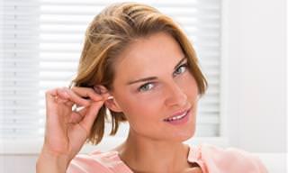 Veja o Que a Cor da Cera do Ouvido Pode te Mostrar em Relação à Saúde