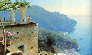 As Serenas Pinturas de Peder Monsted