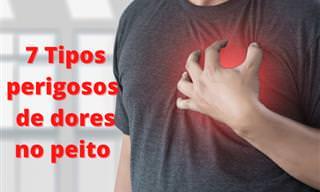 Dor no peito - 7 sintomas que você nunca deve ignorar