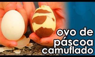Páscoa de Última Hora: Faça um Ovo Fácil de Chocolate!