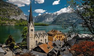 A Região de Lagos Salzkammergut na Áustria é o Paraíso na Terra!