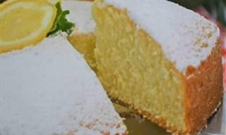 Receita Italiana: Torta Paradiso