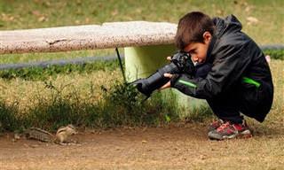 Fotógrafo Talentoso de Apenas 9 Anos