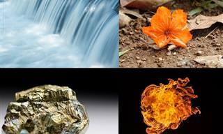 Água, Fogo, Madeira... Descubra Qual Elemento te Define!