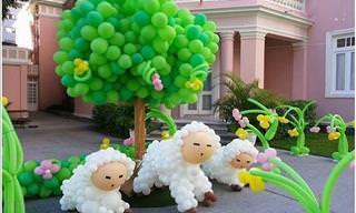 Incríveis Decorações de Balão Para a Sua Festa