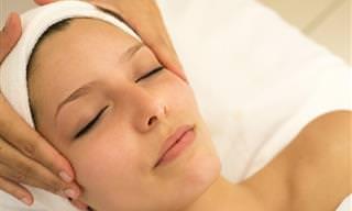 Massagem Facial Chinesa Com Colher Para Uma Pele Mais Jovem