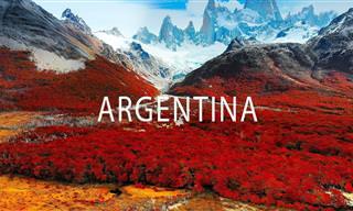 Vamos dar um passeio virtual pela bela Argentina