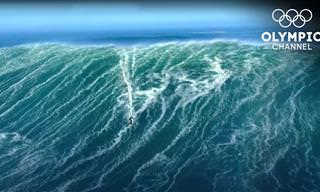Esportes radicais - surfando nas maiores ondas do mundo!