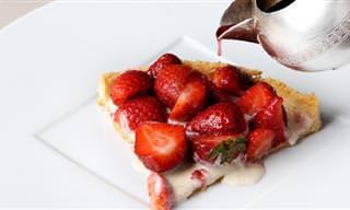 Delícia de Sobremesa: Torta de Morango
