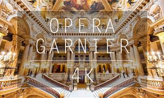 Um passeio em HD 4K pelo Palais Garnier, a Ópera de Paris