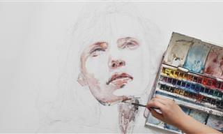 Pintura Em Água - Técnica, Talento e Beleza