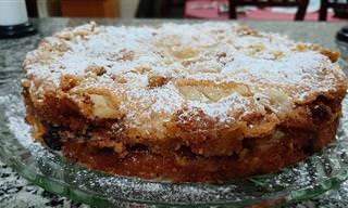 Faça uma deliciosa torta de maçã alemã