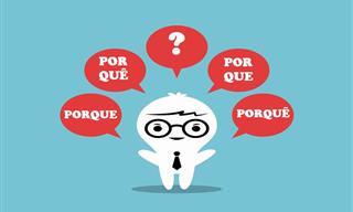 Você Usar os Diferentes 'Porques' da Língua Portuguesa?