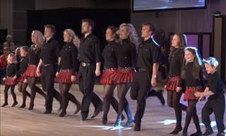ASSISTA: Esta família de 12 dançarinos é adorável!