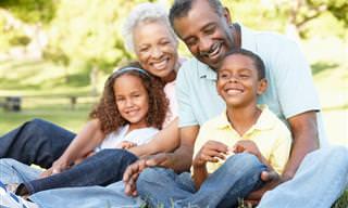 O vínculo especial que envolve os avós e seus netos