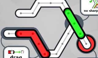 Quebra-Cabeça: Leve o Trem Vermelho à Estação