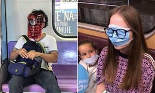 Os passageiros do metrô estão ainda mais estranhos