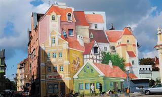 """Arte de rua - incríveis resultados de """"antes' e """"depois"""""""