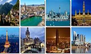 Qual cidade do mundo é a sua cara?