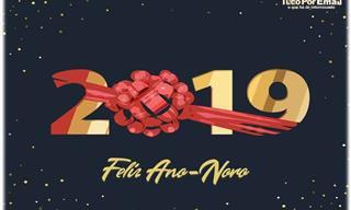 Feliz 2019: Belos Cartões Virtuais de Ano-Novo!