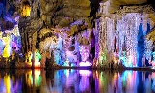 Um Passeio Por 24 Impressionantes Cavernas