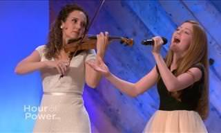 Este incrível dueto vai te deixar com lágrimas no rosto...