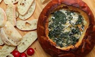 Delícia de Receita: Patê de Sabor Pizza No Pão Italiano!
