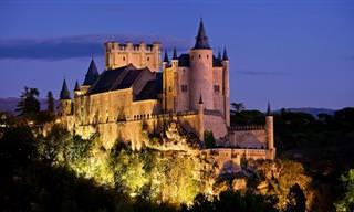 Um passeio por 10 castelos na Europa