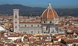 Vamos passear pelo centro histórico da bela Florença
