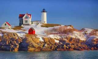 Lugares Onde o Inverno É Mais Bonito...