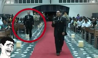 Videopiada: Os maiores micos em cerimônias de casamento
