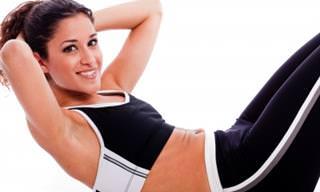 Fortaleça o Abdômen Com Esses Exercícios Muito Fáceis