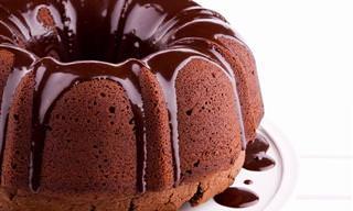 A MELHOR Calda de Chocolate Para Bolos