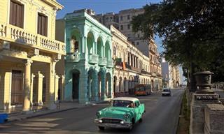 Um passeio virtual em HD por Havana, Cuba