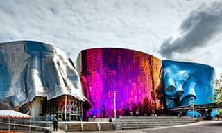 15 Edifícios Únicos por Frank Gehry