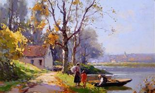 A França Pintada Por Edouard Cortes