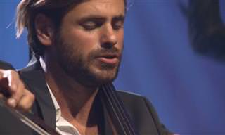 Uma emocionante interpretação em cello de