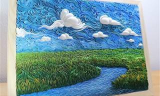 Paisagens de sonhos em 3D inspiradas pelos impressionistas