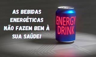 O perigo de consumir bebidas energéticas