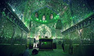 Conheça a Mesquita do 'Rei da Luz', no Irã. Maravilhoso!
