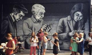 30 Peças de Arte de Rua Para Chamar Sua Atenção