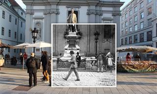 Fotografia Vintage: Viena Antes e Agora