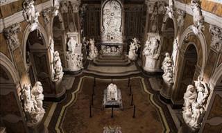 Impressionantes Esculturas de Mármore em Nápoles