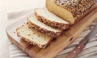 Uma Alternativa de Pão Sem Carboidratos