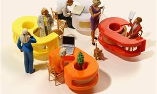 Incrível! Miniaturas do Artista Tatsuya Tanaka