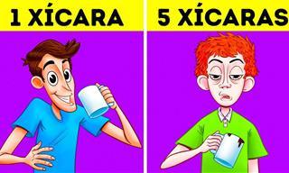 É isso que acontece se você tomar 5 xícaras de café direto